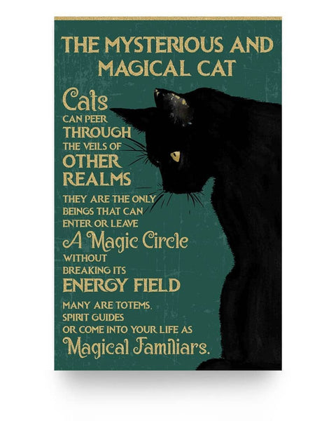 The Mysterious And Magical Cat - Witch Apparel