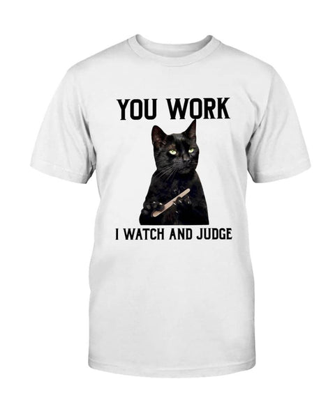 Watch And Judge Cat - Witch Apparel