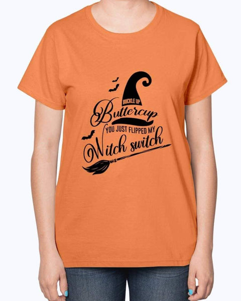 Buckle Up Buttercup Witch Switch - Witch Apparel