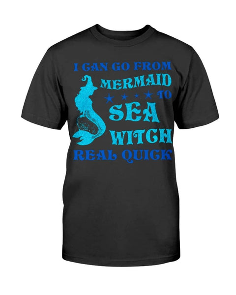 From Mermaid To Sea Witch