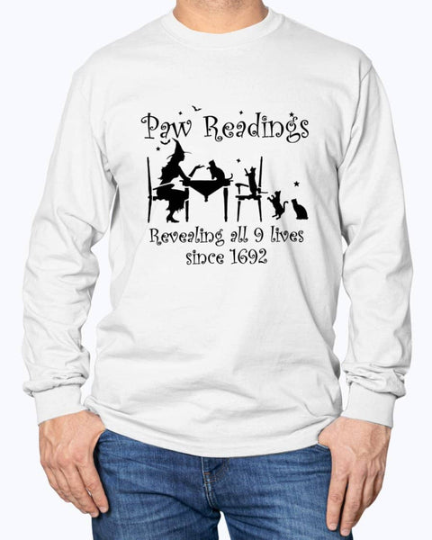 Paw Readings Long Sleeve - Witch Apparel