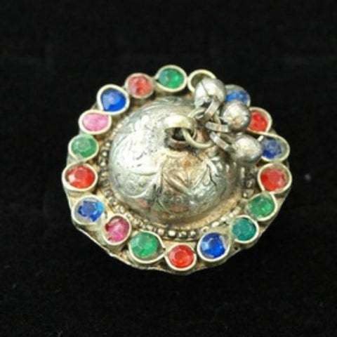 19thC Multicolor Holy Lands Ring