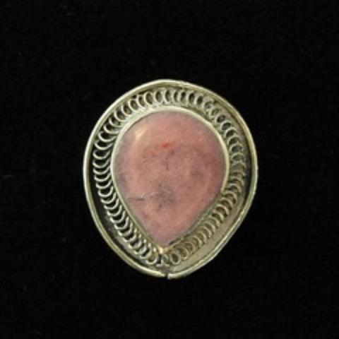 19thC AD Pink Jasper Holy Lands Ring