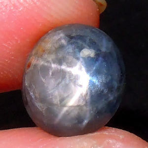 Star Sapphire Gem, Loose and Unheated (5.4 Carats)