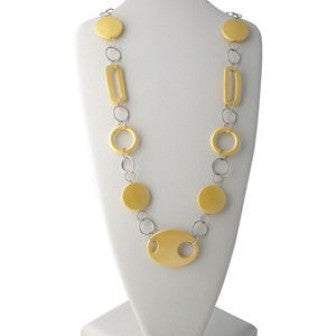 Geometric Yellow Necklace