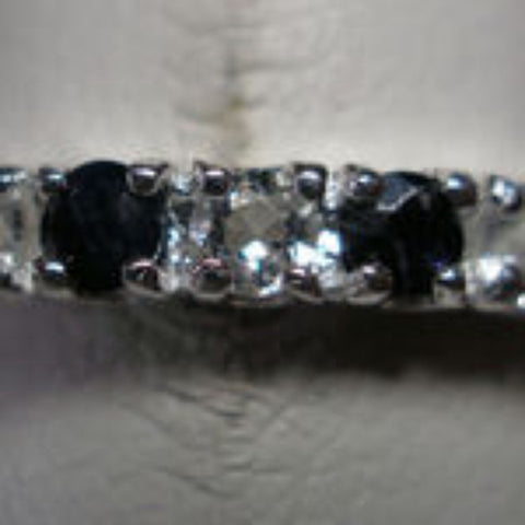 Sapphire Band Ring - Size 8