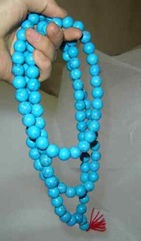 Turquoise Mala Prayer Beads