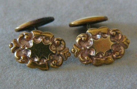 Victorian Gold Filled Cufflinks - Special