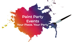 Virtual Paint Party  Supplies