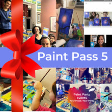 Load image into Gallery viewer, Paint Passes & Gift Cards