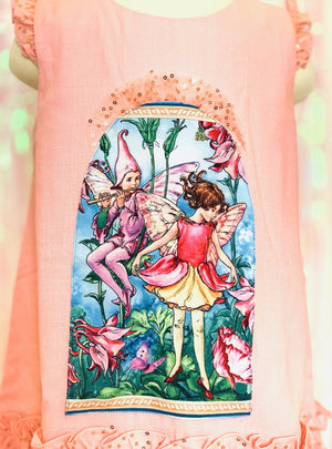 Pink Fairy Comfortable Dress