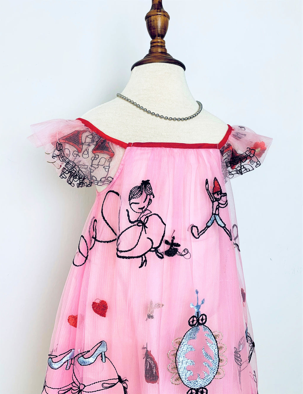 Two-way Princess' Castle Dress - Pink