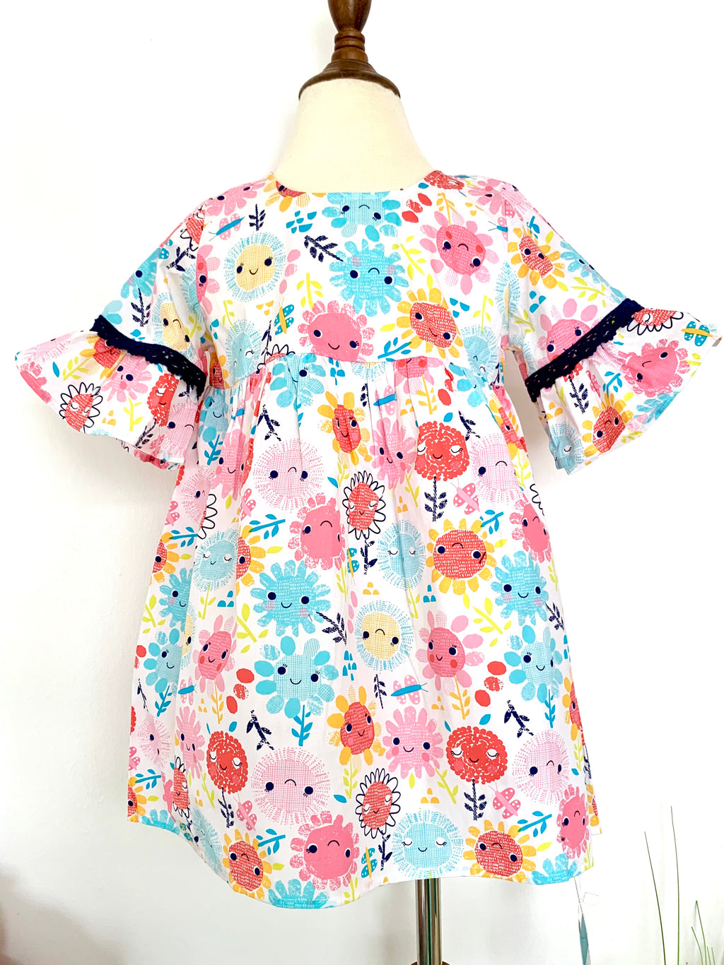 Sun Flower Loose Dress