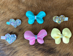 Butterfly Hair Clip Set Large