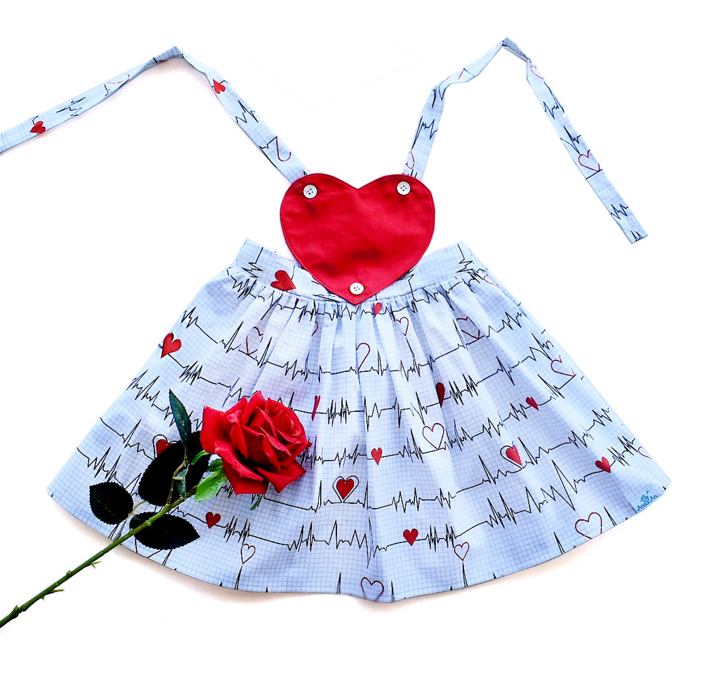 Heartbeats Convertible Pinafore - Just Restock