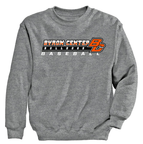 Byron Center - Crewneck Sweatshirt - Baseball