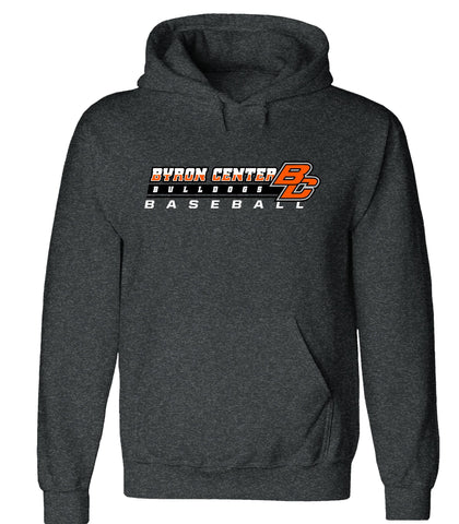 Byron Center - Hooded Sweatshirt - Baseball