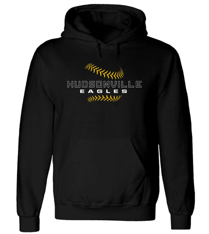 Hudsonville - Hooded Sweatshirt - Baseball Laces