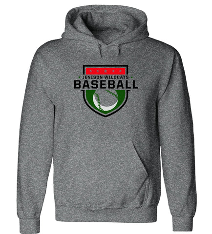 Jenison - Hooded Sweatshirt - Baseball Shield