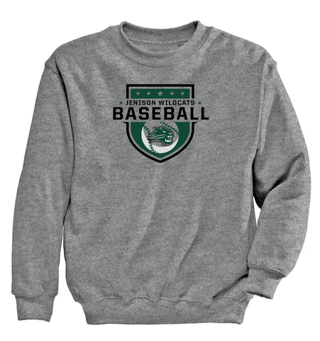 Jenison - Crewneck Sweatshirt - Baseball Shield 2
