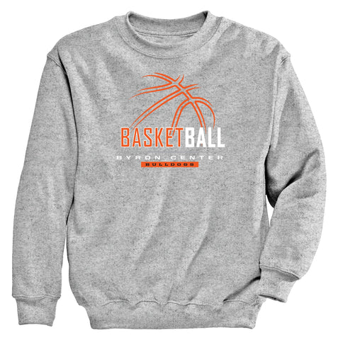 Byron Center - Crewneck Sweatshirt - Basketball