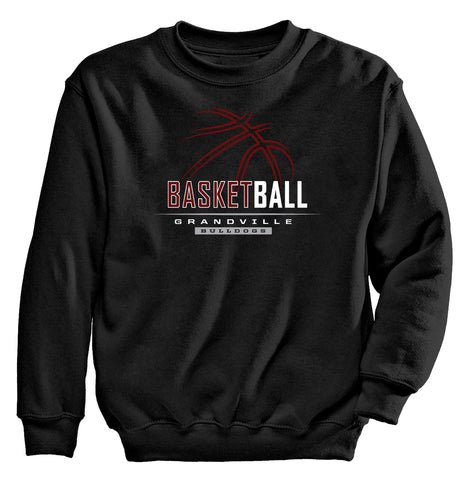 Grandville - Crewneck Sweatshirt - Basketball Outline
