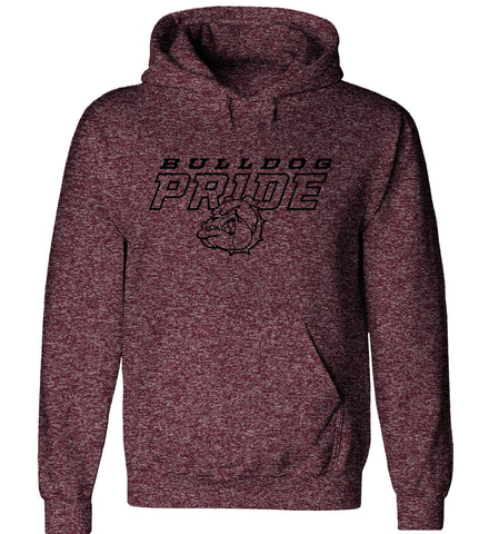Grandville - Hooded Sweatshirt - Bulldog Pride
