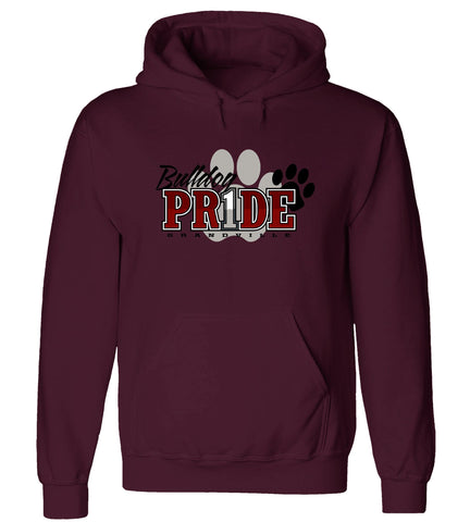 Grandville - Hooded Sweatshirt - Bulldog Pr1de