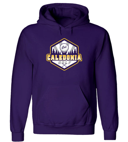 Caledonia - Hooded Sweatshirt - Golf