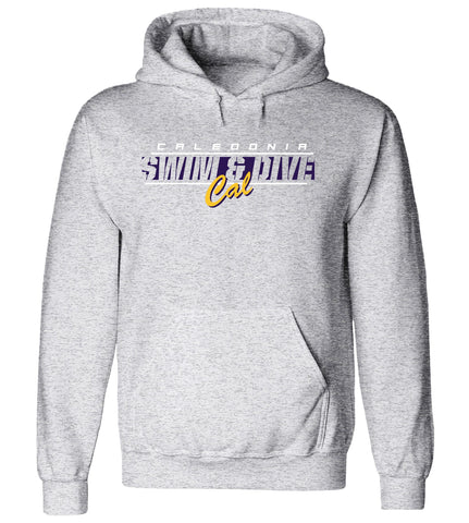 Caledonia - Hooded Sweatshirt - Swim & Dive