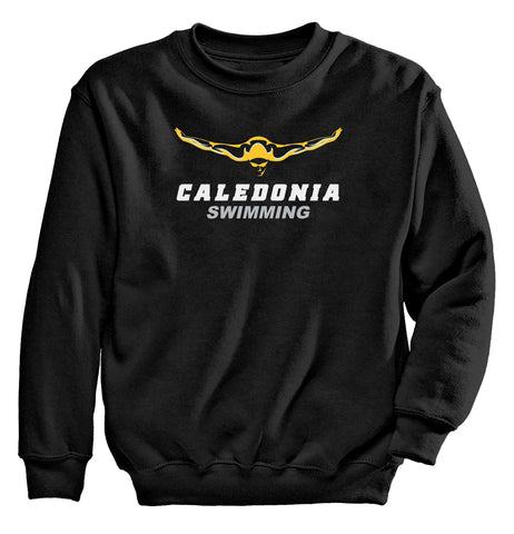 Caledonia - Crewneck Sweatshirt - Swimming
