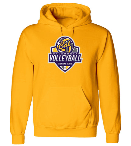 Caledonia - Hooded Sweatshirt - Volleyball