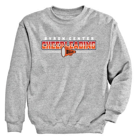 Byron Center - Crewneck Sweatshirt - Cheer