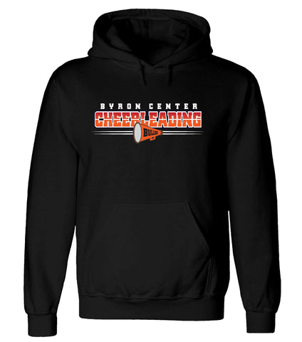 Byron Center - Hooded Sweatshirt - Cheer