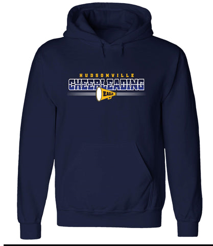 Hudsonville - Hooded Sweatshirt - Cheer