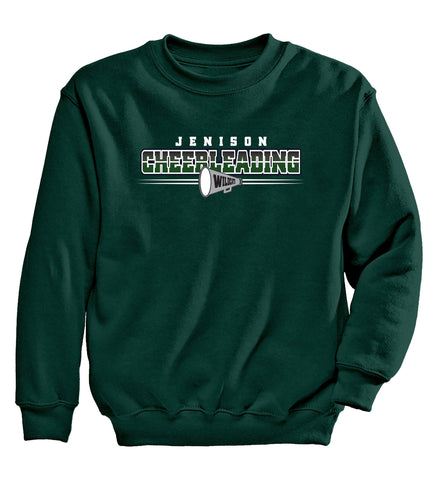 Jenison - Crewneck Sweatshirt - Cheer