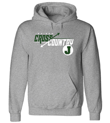 Jenison - Hooded Sweatshirt - Cross Country