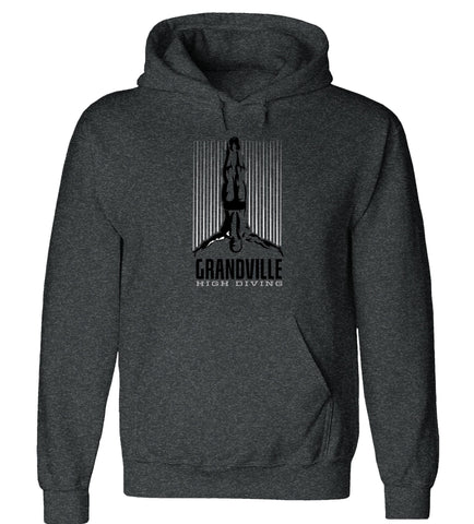Grandville - Hooded Sweatshirt - Diving