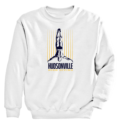 Hudsonville - Crewneck Sweatshirt - Diving