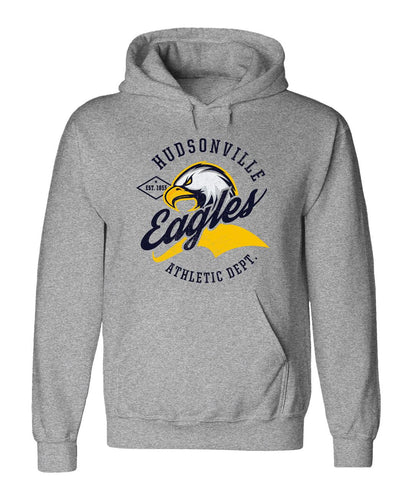 Hudsonville - Hooded Sweatshirt - Athletic Department
