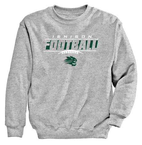Jenison - Crewneck Sweatshirt - Football Laces