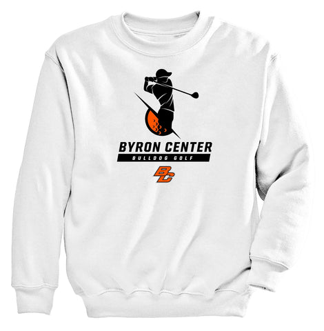 Byron Center - Crewneck Sweatshirt - Golf