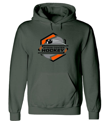 Byron Center - Hooded Sweatshirt - Hockey Sticks