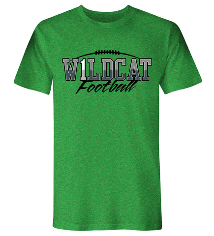 "Jenison - S/S Football Wildcat ""1"""