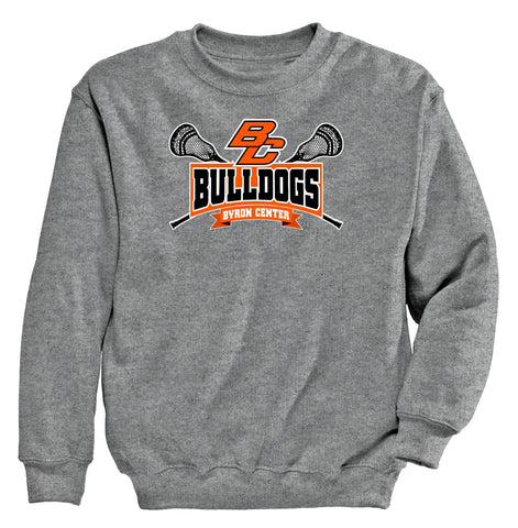 Byron Center - Crewneck Sweatshirt - Lacrosse