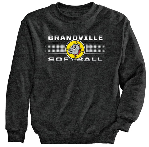 Grandville - Crewneck Sweatshirt - Softball
