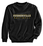 Hudsonville - Crewneck Sweatshirt - Softball Ghost Eagle