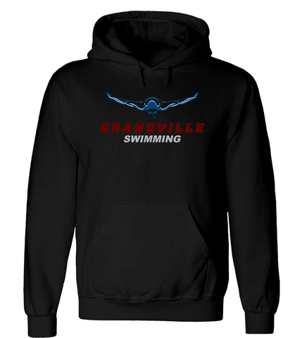 Grandville - Hooded Sweatshirt - Swimming