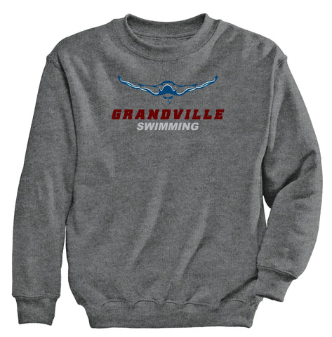Grandville - Crewneck Sweatshirt - Swimming