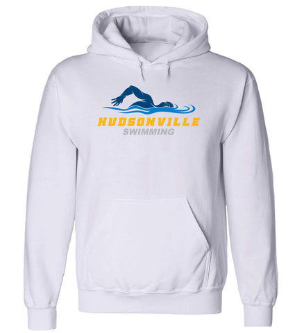Hudsonville - Hooded Sweatshirt - Swimming